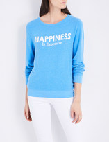 Wildfox Couture Happiness is expensive knitted jumper