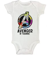 Dazzle Avenger In Training Funny Baby Onesie Bodysuit (0-6 Months, )