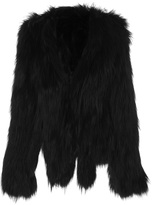 Anna Sui Knitted Fox Jacket