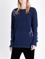 Drifter Impression cotton-jersey sweatshirt
