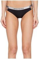 Emporio Armani Visibility Microfiber Cut Out Brief Women's Underwear