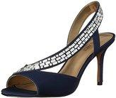 Nine West Women's Giulia Satin Heeled Sandal