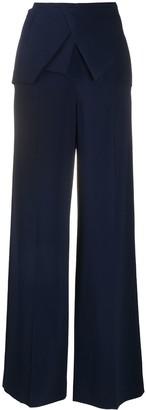 Roland Mouret Draped Suit Trousers