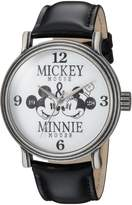 Disney Men's 'Mickey Mouse' Quartz Metal Casual Watch, Color: (Model: WDS000336)