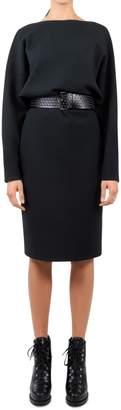 Alaia Green Knitted Dress