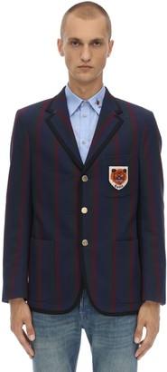 Gucci Preppy Vintage Cotton Cardigan Jacket
