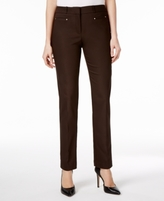 JM Collection Petite Slim-Leg Pants, Created for Macy's