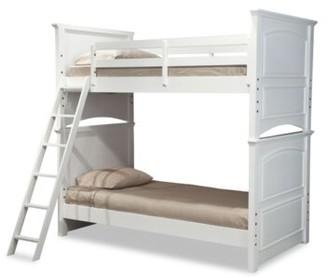 LC Kids Madison Twin Futon Bunk Bed