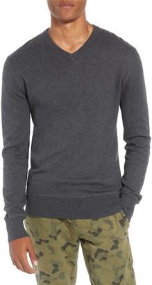 Life After Denim Tournament Regular Fit V-Neck Sweater