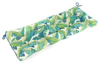 Cheryl Balmoral Tropical Opal Outdoor Bench Cushion Bay Isle Home