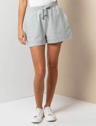 Forever New Lena Loungewear Shorts - Sage Green - xs