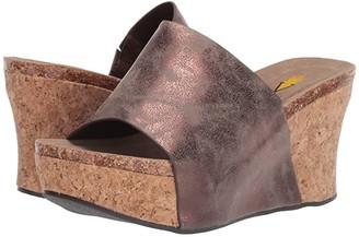 Volatile Madge (Bronze) Women's Wedge Shoes