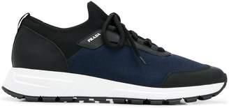 Prada round toe sneakers