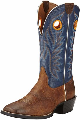 Ariat Men's Sport Outrider Western Cowboy Boot Pinecone/Federal Blue 10 D US