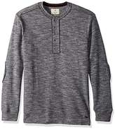 True Grit Men's Double Weave Shirts with Raw Edge Contrasting Details