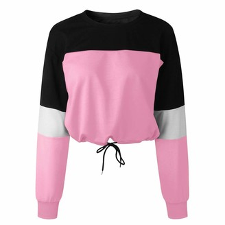 Ulanda Eu Womens Hoodies Ulanda-EU Womens Hoodies Women Long Sleeve Colorful Sweatshirts Casual Pullover Crops Tops Hoodies for Womens Teen Girls Sky Blue