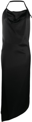 Ssheena Asymmetric Midi Dress