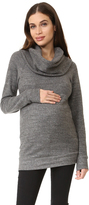 Ingrid & Isabel Cowl Neck Maternity Sweatshirt