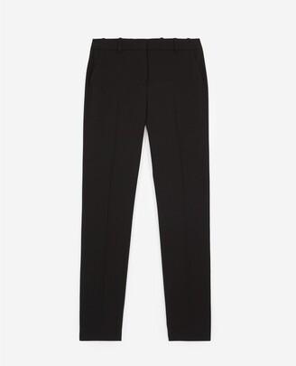 The Kooples Black crepe suit trousers