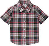 Joe Fresh Baby Boys' Plaid Shirt, JF Midnight Blue (Size 12-18)
