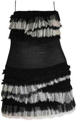 Jay Ahr Black Lace Dress for Women