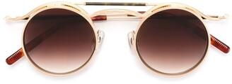 Matsuda Tortoise Shell Detail Sunglasses