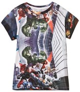 Little Eleven Paris Marvel All Over Print Tee