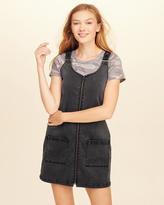 Hollister Denim Overall Dress