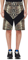 Givenchy Men's Python-Print Cotton Shorts
