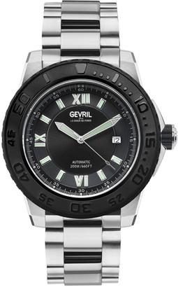 Gevril Men's Seacloud Swiss Automatic Bracelet Watch, 45mm