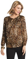 Chico's Animal Glamour Louise Top
