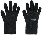 Yohji Yamamoto two-tone gloves