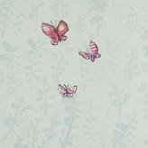 Osborne & Little - Zagazoo Collection - Butterfly Meadow Wallpaper - W606101