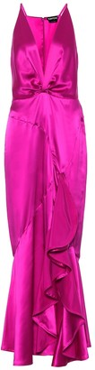 Tom Ford Exclusive to Mytheresa Silk-satin gown