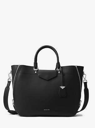 MICHAEL Michael Kors MK Blakely Leather Tote Bag - Black - Michael Kors