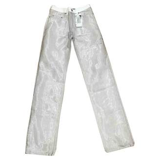 Y/Project Grey Cotton - elasthane Jeans
