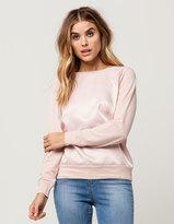 IVY & MAIN Satin Womens Sweatshirt