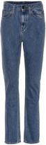 Calvin Klein Jeans Est. 1978 High-rise straight-leg pants