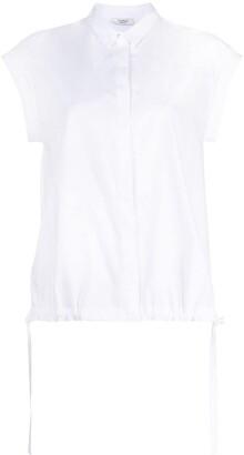 Peserico Button-Up Short-Sleeved Shirt