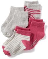 Old Navy Crew-Socks 4-Pack for Toddler & Baby