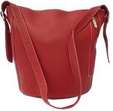 Piel Women's Leather Bucket Bag 9707