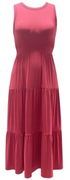 Style&Co. Style & Co Tiered Sleeveless Dress, Created for Macy's