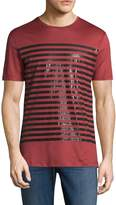 Antony Morato Men's Cotton Striped Tee
