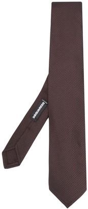 DSQUARED2 Square Weave Tie