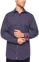 Claiborne Fun Shirts Long Sleeve Paisley Button-Front Shirt
