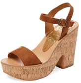 Dolce Vita Randi Suede Platform Sandal