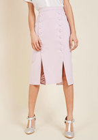 MinkPink Iconic Executive Pencil Skirt in XS