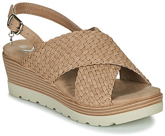 Xti MAYLONE women's Sandals in Brown