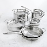 Williams-Sonoma Williams Sonoma Signature Thermo-CladTM Stainless-Steel 10-Piece Cookware Set