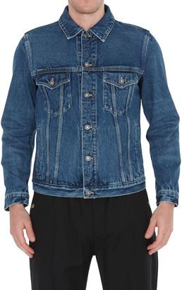 Givenchy Back Logo Denim Jacket